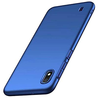 FHXD Compatible with Samsung Galaxy A10 Case Ultra-Thin Lightweight Anti-Scratch Shockproof Protective Cover Matte PC Hard Shell Bumper Cover-Blue from FHXD