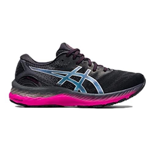 ASICS Gel-Nimbus 23, Zapatillas de Running Mujer, Black Pure Silver, 37 EU