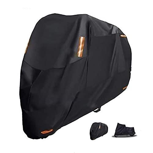 HOTLIGHT Housses de Moto Couvercle de Moto Compatible avec Couverture de Moto Ducati Street Fighter V4, Double Conception Durable étanche pour Motos, Couverture épaissie à vélo épaissi (Color : A)