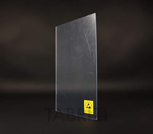ESD-plaat van polycarbonaat met afvoerbare oppervlaktecoating (DIN A1)