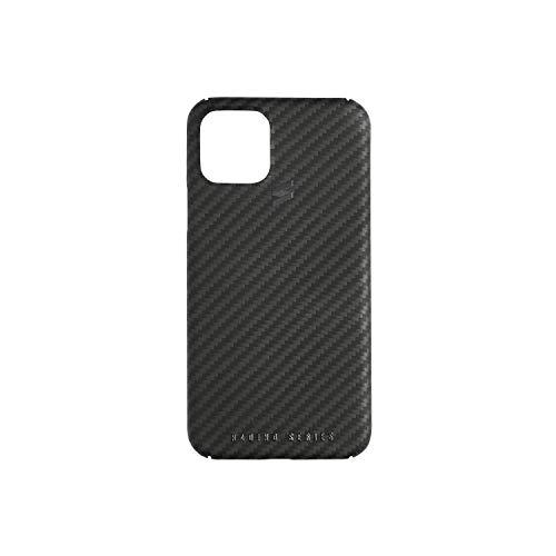 Suritt Real Carbon Hülle matt schwarz für iPhone Racing Series. (iPhone 12 Mini, Black)