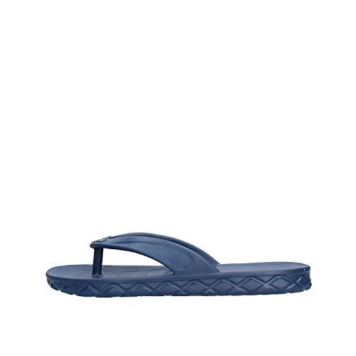 arena Herren Badeschuhe Badelatschen Poolsandalen Watergrip Thong 000411, Farbe:Blau, Schuhgröße:EUR 46, Artikel:-703 Navy
