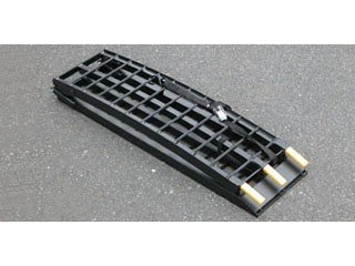 キジマ(Kijima) トランポ用ラダーレール メタルフィールド 折り畳み寸法:308x1140x140(mm) 汎用 ブラック Z9-22-006