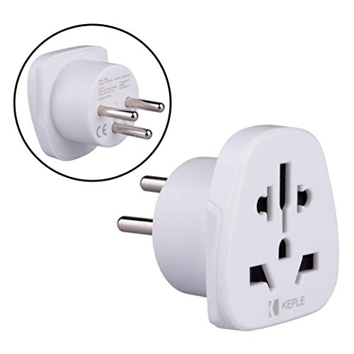 Israel Adapter Plug Viaje Tipo H to a UK, US USA American, AUS AU Australia, EU Europe European, China, Japan,...