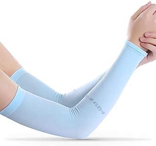 LybCvad Protezione del Braccio Femminile del Gel del Tatuaggio del Gel di Ghiaccio della Tuta Protettiva Femminile Fredda di Estate degli Uomini Che Guida allaperto del Braccio di Sport