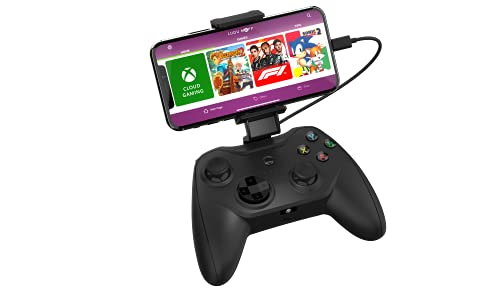 Rotor Riot MFI Certified Gamepad Controller for iPhone - Wired with L3 + R3 Compatibility, Power Pass Through Charging, Improved 8 Way D-Pad, and redesigned ZeroG Mobile Device (Renewed)