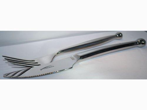 Zweibrüder Eisvogel Küchenmesser 2078/Gabel und Messer-SET
