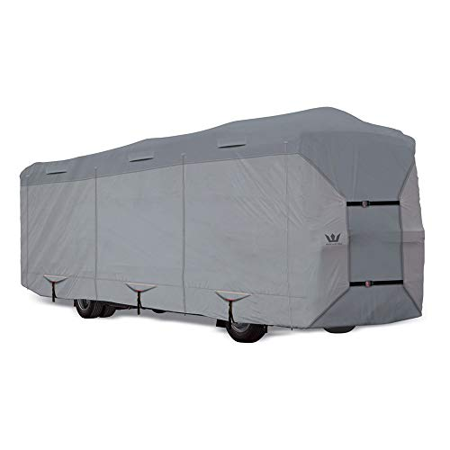 S2 Expedition Class A RV Covers by Eevelle | Marine Grade Waterproof Fabric Roof | Tan and...