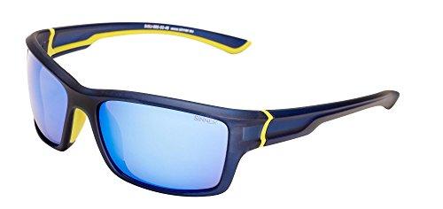SINNER Cayo Sunglasses - Dark Blue/White