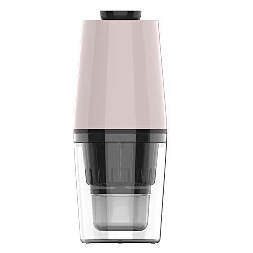 El Exprimidor Eléctrico Es Conveniente para Una Limpieza Rápida Y Segura, Extracción De Jugo MultifuncionalUSB, Adecuado para El Hogar, Viajes Y Exteriores (Color : Pink)