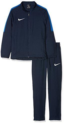Nike Academy18 Tracksuit, Tuta Bambino, Blu (Obsidian/Obsidian/Royal Blue/White 451), XS