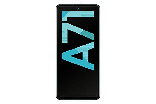 Samsung Galaxy A71 Android Smartphone ohne Vertrag, 4 Kameras, 4.500 mAh Akku, Schnellladen, 6,7 Zoll Super AMOLED Display, 128 GB/6 GB RAM, Dual SIM, Handy in blau, deutsche Version