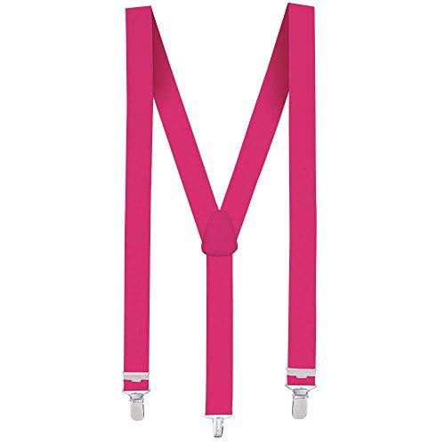 Boland 602 - Hosenträger, Zubehör, neon pink
