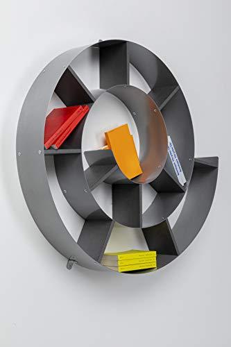 Wandregal Snail, dekoratives Schneckenregal für Bücher und CDs - 2