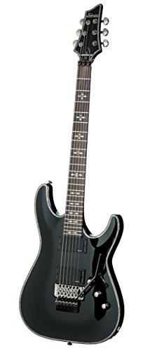 Schecter Hellraiser C-1fr guitarra eléctrica (negro brillante)