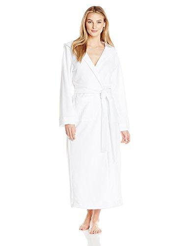 HANRO Damen Mantel 130cm Robe Selection (0101 white), Gr. XS