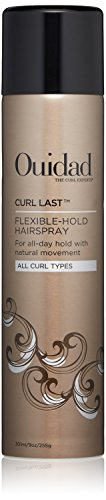 OUIDAD Curl Last Flexible-Hold Hairspray, 9 oz