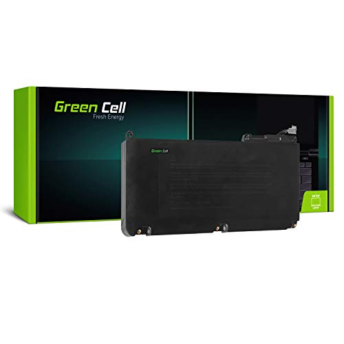 Green Cell® A1331 Batería para Apple MacBook 13 A1342 Unibody (Late 2009, Mid 2010) Ordenador (5200mAh 10.8V Negro)