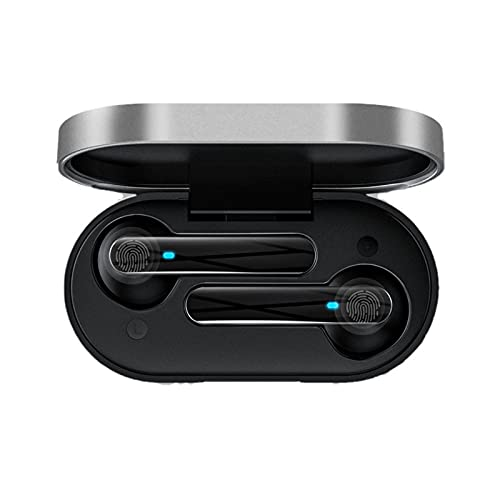 ZEIYUQI Auriculares Bluetooth 5.0 Auriculares Estéreo 3D Inalámbricos con Bluetooth Auriculares Deportivos con Cancelación de Ruido con Micrófono