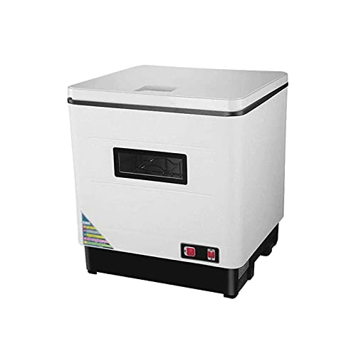 Bdesign Tape Total AUTOMÁTICO Free Mesa de pie Superior UV Disinfección Lavavajillas, Spray Giratorio 360 ° Azimut Fácil de Limpiar, Energía Energía