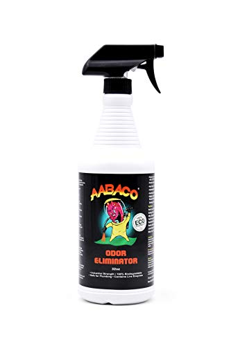 AABACO Odor Eliminator Spray for Smoke Pet Urine Carpet Smells & More - Deodorizer Used to Control Unpleasant Odors in Your Home - Remover for Unwanted Animal Smell (32 Ounces)