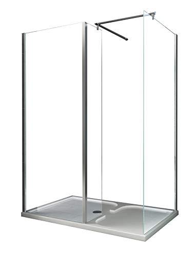 Schneckendusche OPEN 150 x 90 x 195 cm
