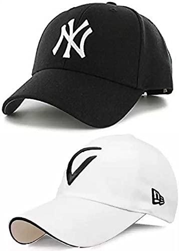 GOOD FEEL Brand – a New Combo Pack of 2 Stylish Sport virat Inspire + Baseball. Cap for Men's and Boy's Cap (Pack of 2)