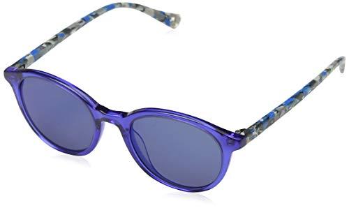 Puma Unisex-Kinder Junior Sonnenbrille, Blue/Blue/Havana, 47