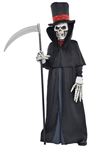 amscan- Dapper Death Deguisement Ado Halloween, 999477