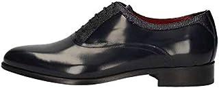MARINI Derby - Zapatos elegantes para hombre B8 141, piel azul, original PE