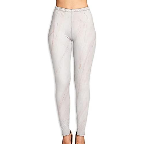 Aerokarbon Yogahosen Damen,Natürliche Marmor Textur Haut Fliesen Wallpaper,Hoch taillierte Trainingshose Gedruckte Yoga Stretch Strumpfhose L