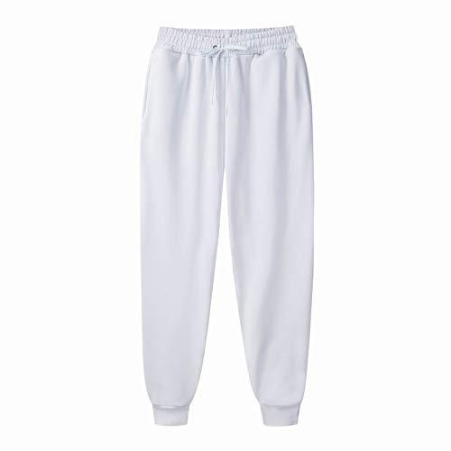 WAEKQIANG Pantalones Deportivos De Primavera Y OtoñO De Color Puro para Hombre, Pantalones Deportivos para Hombre, Ropa Deportiva, Pantalones De Fitness
