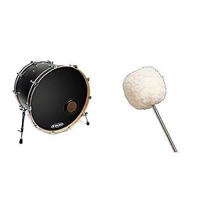 Evans REMAD Resonant Bass Drum Head