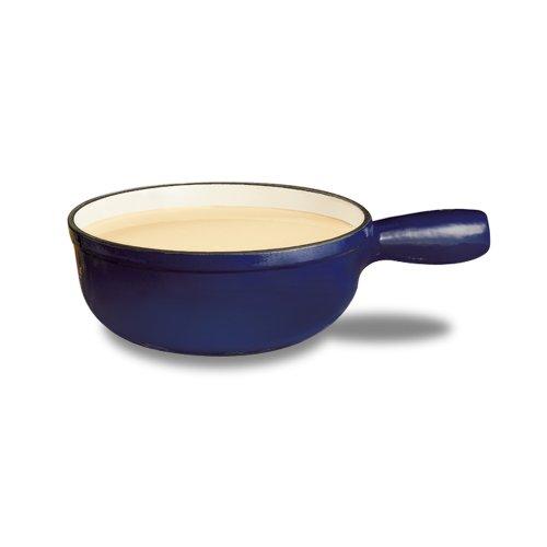Swissmar F65005 Lugano 1-1/2-Quart Cheese Fondue Pot, Deep Blue