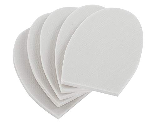 5 Pair of Half Insoles - Shoe Filler, Half-Sizer, Unisex Shoe Inserts to Make Big Shoes Fit a Half Size Smaller (Small)