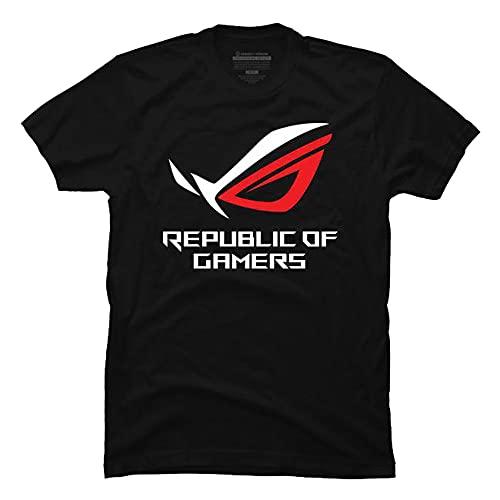 Popular Cities Tee Co. Republic of Gamers ASUS Logo T-Shirt