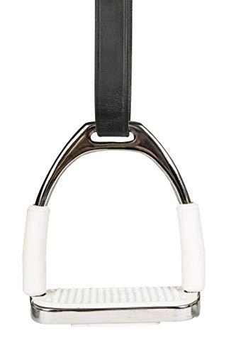 HKM Sicherheitssteigbügel aus Edelstahl, per Paar, 12