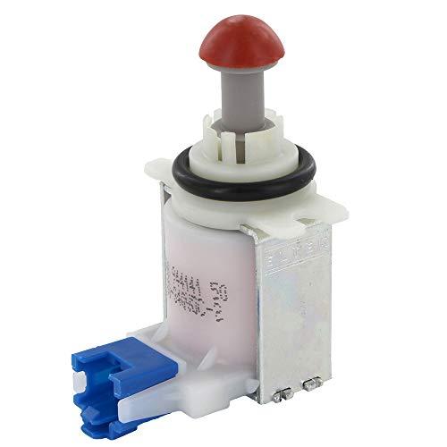 Válvula magnética de desagüe para bolsa de agua en lavavajillas / errores E19 / compatible con Bosch 631199 00631199 Neff Gaggenau Küppersbusch Balay