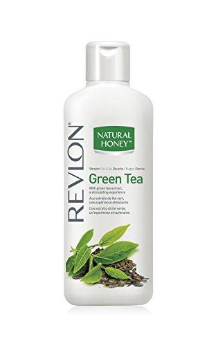 Revlon Natural Honey Shower Gel/Duschgel Green Tea (Grüntee) mit Grüntee Extrakt/stimulierend - 650 ml