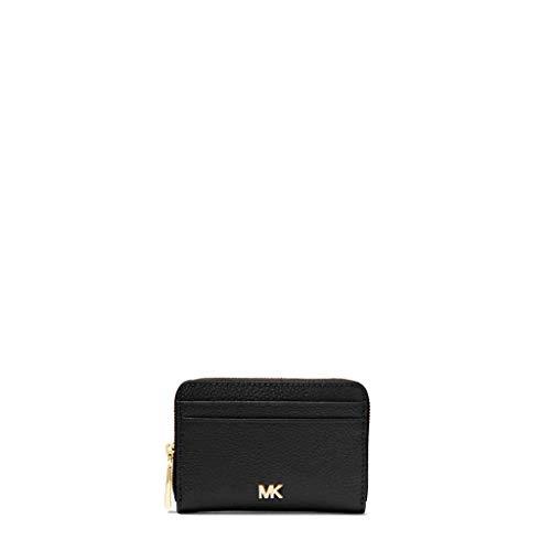 MICHAEL Michael Kors Donna portafoglio in pelle piccolo ciottoli Nero Unica Taglia
