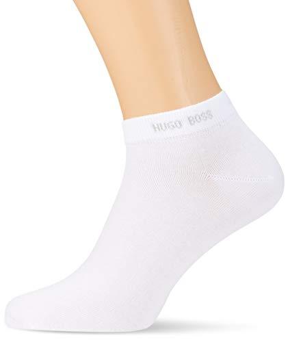 BOSS Herren AS Uni CC Füßlinge, Weiß (White 100), 43/46 (Herstellergröße: 43-46) (2er Pack)