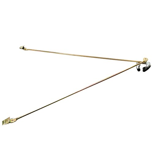 Official Honor Brass Flag Spreader for Indoor Flags (Fits 1 in. to 1-1/4 in. Dia. Poles)