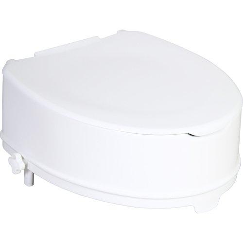 Patron ZRERHI01230300 WC-Sitzerhöhung mit Deckel, Apollo-V/Ares, 14 cm
