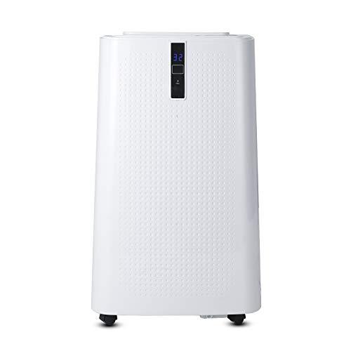 SWANEW Climatizzatore WiFi con guarnizione per finestra, climatizzatore mobile 4 in 1, riscaldamento, raffreddamento, deumidificatore, ventilazione, 12000 BTU/h (3,5 kW), per ambienti fino a 60 ㎡