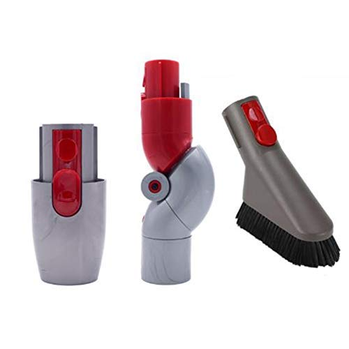 KTZAJO Parte superior/inferior cepillo suave cabeza para V7 V8 V10 V11 liberación rápida multi-ángulo rotación aspirador Accesorios