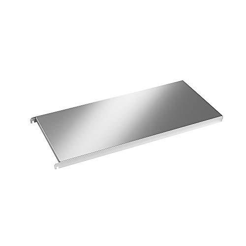 Acier inoxydable étagère, étagère d'angle lisse, 347x 940X 440mm.