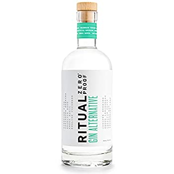 RITUAL ZERO PROOF Gin Alternative | Award-Winning Non-Alcoholic Spirit | 25.4 Fl Oz  750ml  | Zero Calories | Keto Paleo & Low Carb Diet Friendly | Make Delicious Alcohol Free Cocktails