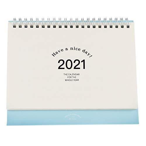 TOYANDONA 1 Pc Calendario de Papel 2021 Calendario Planificador Mensual Permanente Calendario...