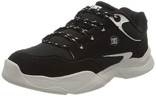DC Shoes Decel, Zapatillas Mujer, Black/Cream, 38.5 EU