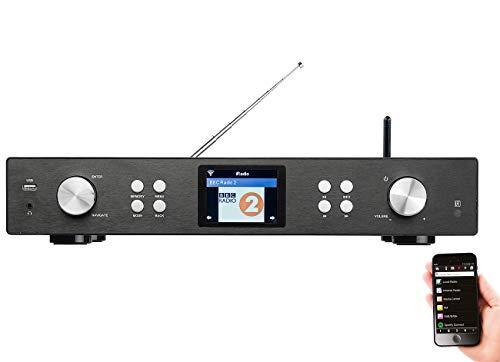 VR-Radio Internet Radio Tuner: Digitaler WLAN-HiFi-Tuner mit Internetradio, DAB+, UKW, MP3, Streaming (HiFi Receiver)